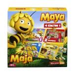 Biene Maja 4-in-1-Spielebox