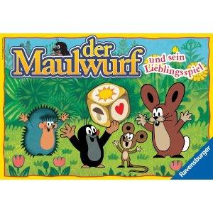 Der Maulwurf und sein Lieblingsspiel Ravensburger Brettspiel