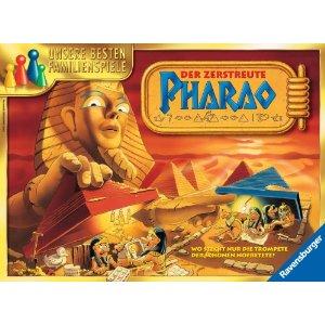 Der zerstreute Pharao -Ravensburger Brettspiel ab 8 Jahren