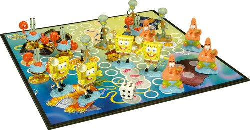 Don't worry mensch ärgere dich nicht - spongebob edition