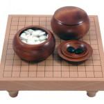Go-Spiel: 13×13-Tisch-Set, dunkel