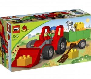 lego duplo 5647 gro er traktor spielzeug f r kinder ab 2 jahren. Black Bedroom Furniture Sets. Home Design Ideas