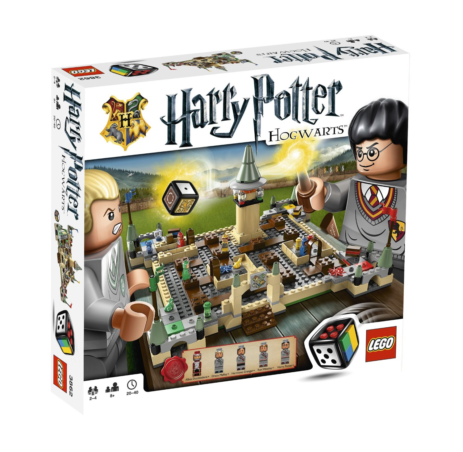 lego harry potter hogwarts familienbrettspiele. Black Bedroom Furniture Sets. Home Design Ideas