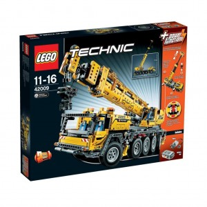 lego technic 42009 mobiler schwerlastkran. Black Bedroom Furniture Sets. Home Design Ideas