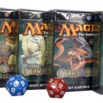 MTG- Magic 8th Edition Core Set Themendeck 5er Set plus 2 Magic Würfel