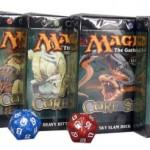 MTG- Magic 8th Edition Core Set Themendeck 5er Set plus 2 Magic Würfel