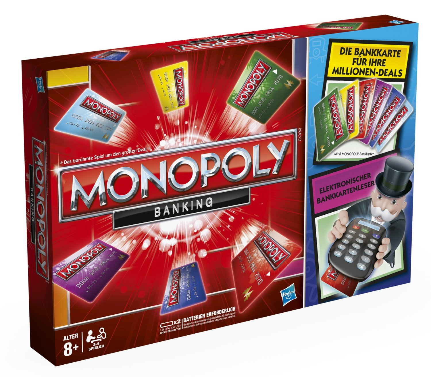 monopoly banking neuauflage 2012 familienbrettspiele. Black Bedroom Furniture Sets. Home Design Ideas