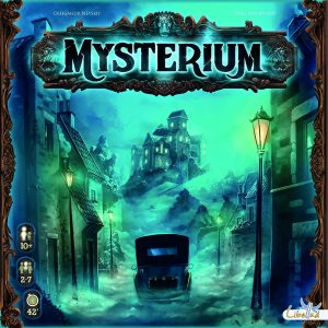 mysterium brettspiel regeln spielanleitung test. Black Bedroom Furniture Sets. Home Design Ideas