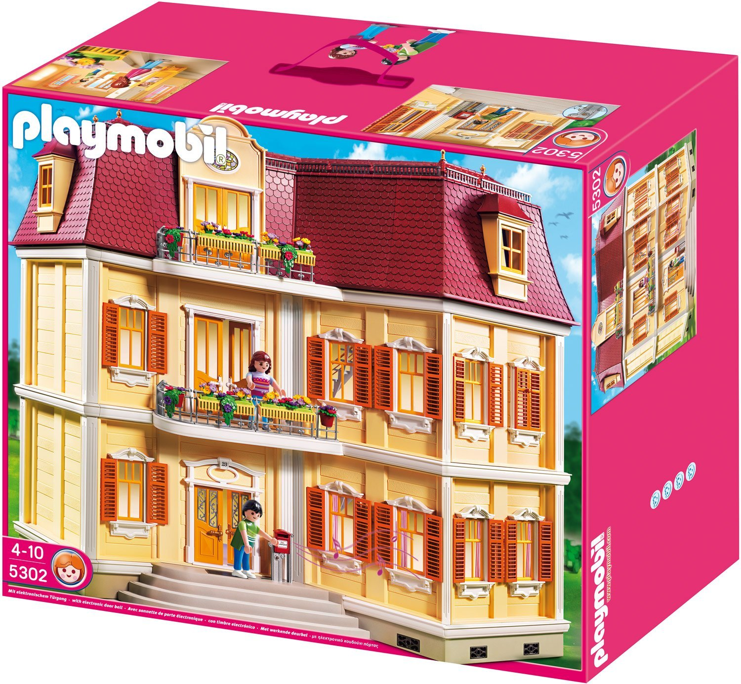 playmobil mein gro es puppenhaus familienbrettspiele. Black Bedroom Furniture Sets. Home Design Ideas