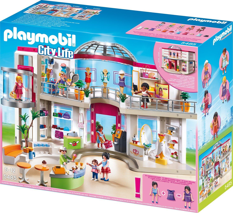 playmobil shopping center mit einrichtung familienbrettspiele. Black Bedroom Furniture Sets. Home Design Ideas