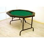 Klappbarer Profi Casino Pokertisch  – Rund 120 cm