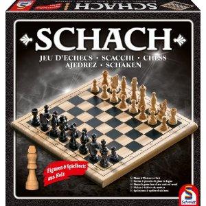 Schach - Brettspiel Klassiker für Taktik Freunde