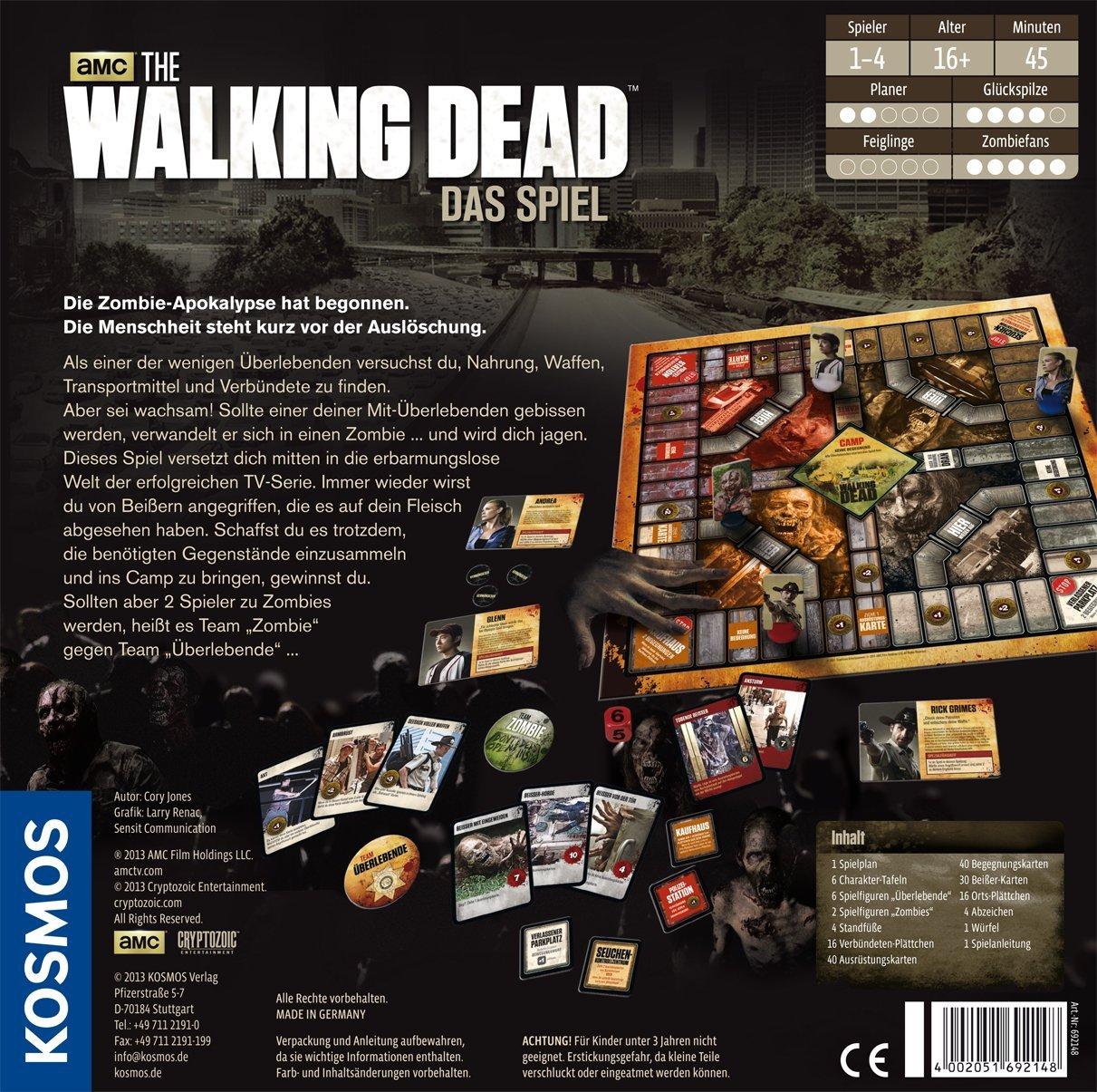 The Walking Dead Brettspiel